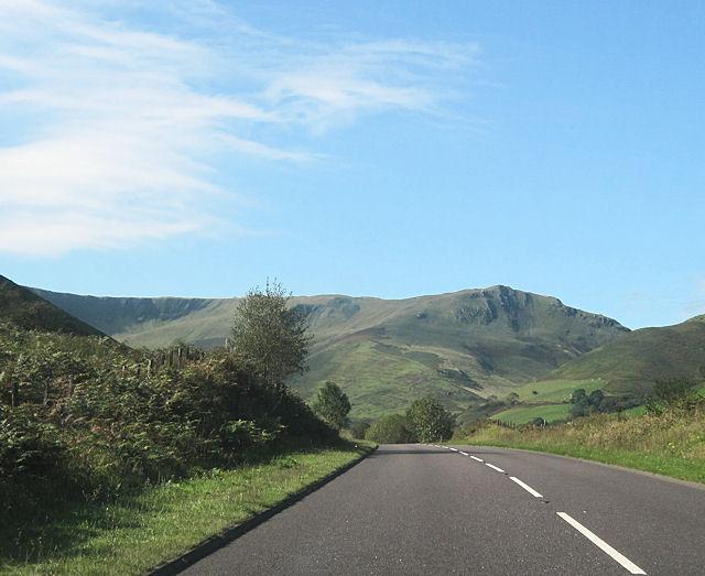 A470 past Cwm Cerist
