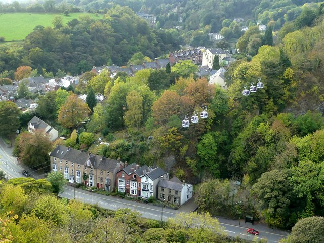 Matlock Dale from High Tor