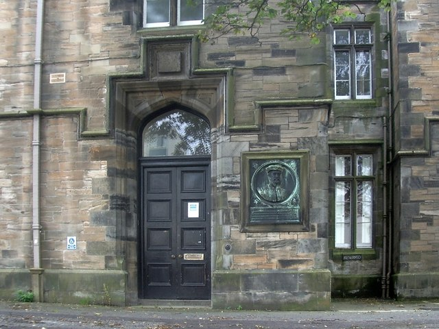 Entrance of Sheriff Court, Linlithgow