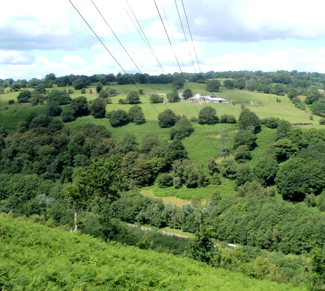A view from Sofrydd Road, Sofrydd