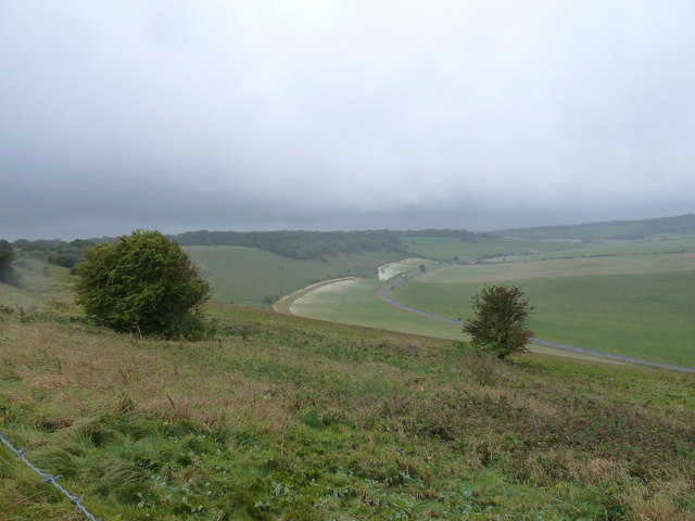 Access land above Long Furlong