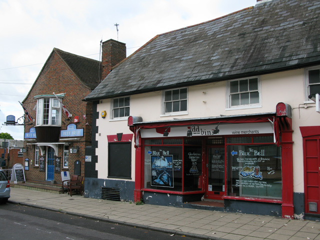 Oddbins and the Blue Bell, South Street, Emsworth