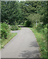 SS9084 : National Cycle Route 4 at Brynmenyn by eswales