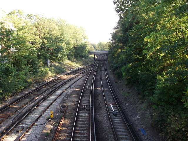 Railways to West Norwood
