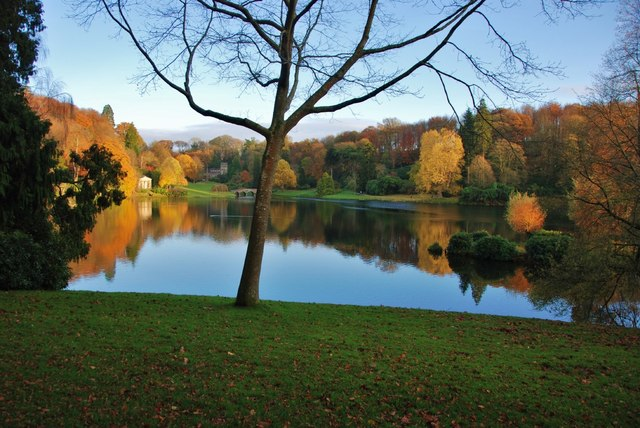 Stourhead: Nearly Dusk