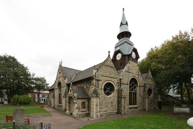 St Matthias, Poplar High Street, Poplar