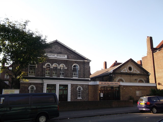 New Park Road Baptist Church, Streatham Hill