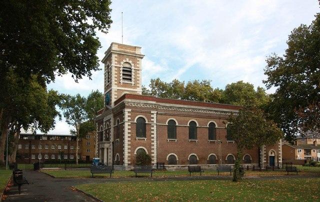 St Matthew, St Matthew's Row, Bethnal Green