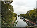SJ7891 : Bridgewater Canal from Marsland Bridge by Gerald England