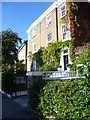 TQ3076 : Stockwell Park Crescent by Ian Yarham