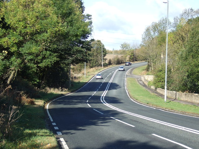 B6422 towards Hemsworth