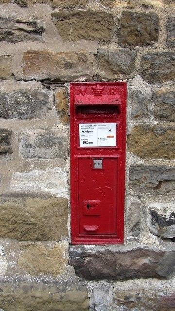 Post box, Hawnby