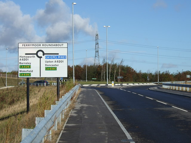 New road towards the A6021