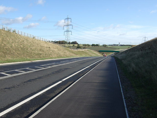 A6021 towards the A1