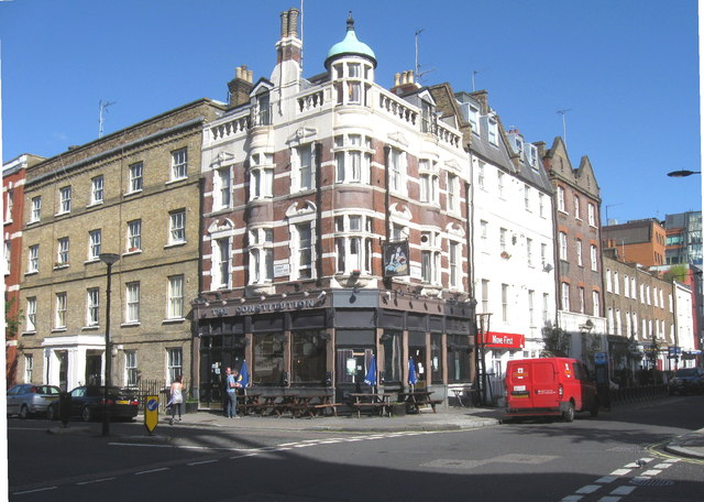 The Constitution Pub, Bell Street, Marylebone