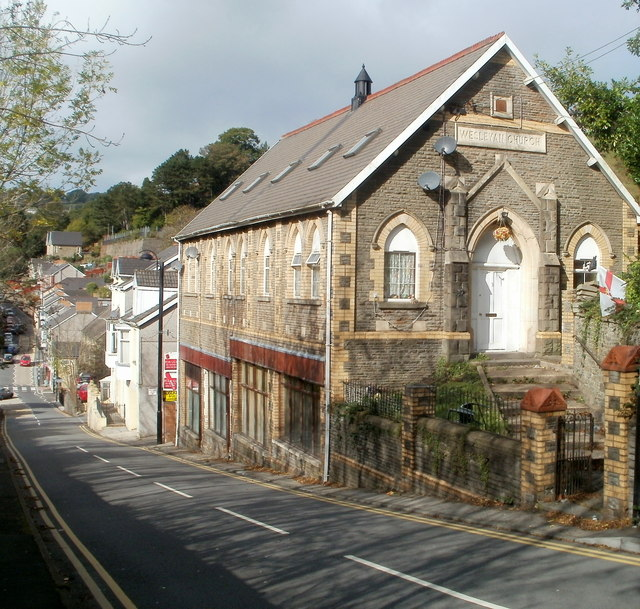 High Street flats in former Wesleyan Church, Llanhilleth