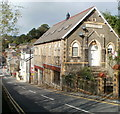 SO2100 : High Street flats in former Wesleyan Church, Llanhilleth by John Grayson