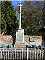 NZ3528 : Sedgefield War Memorial by Andrew Curtis