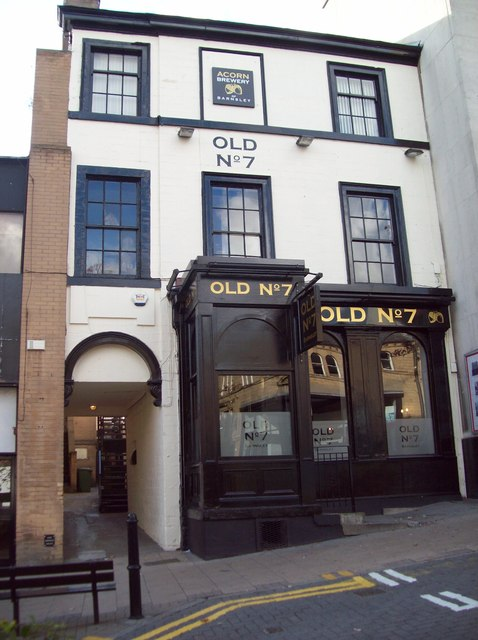 Old No. 7  Public House in Barnsley