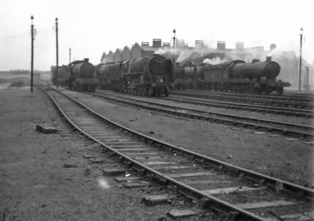 Staveley (GC) Locomotive Shed, 1964