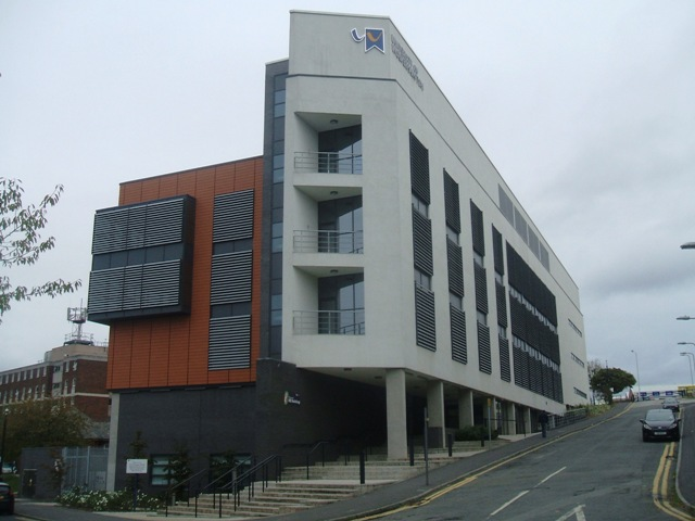 MX Building - Wolverhampton University