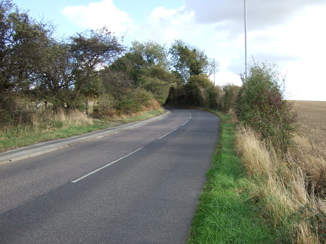 Frickley Bridge Lane towards Brierley
