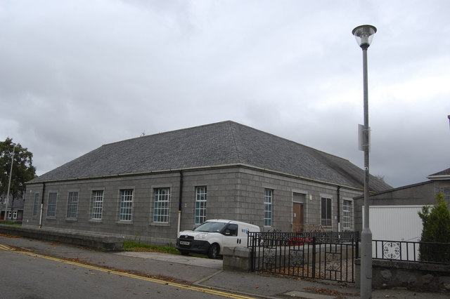 Telephone exchange, Thorngrove Avenue, Aberdeen