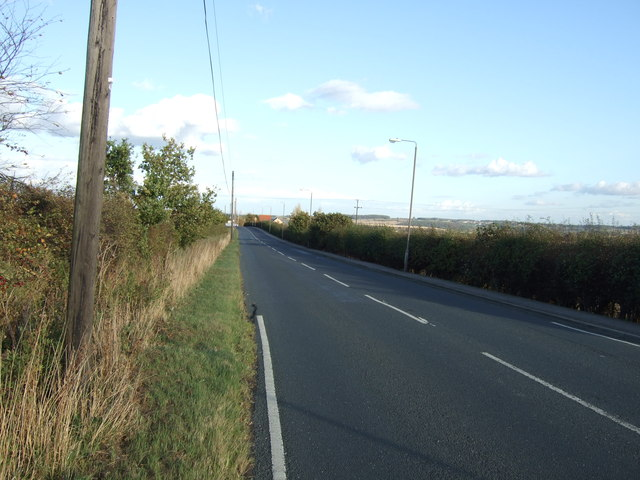 Common Road heading east