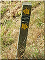 TL6655 : Footpath Marker by Keith Evans
