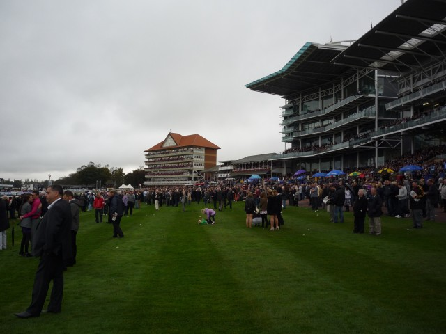 Stands at York racecourse