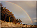 SD4476 : Rainbow at Far Arnside by Karl and Ali