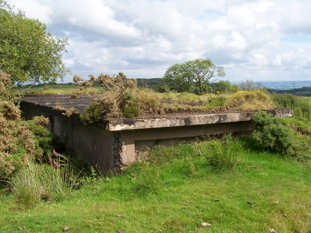 Bogside Heavy Anti-Aircraft Battery - Partially Buried Magazine