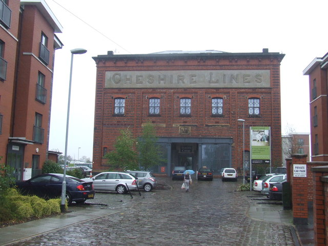 Grand Central apartments, Warrington