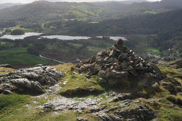 Cairn overlooking Elterwater