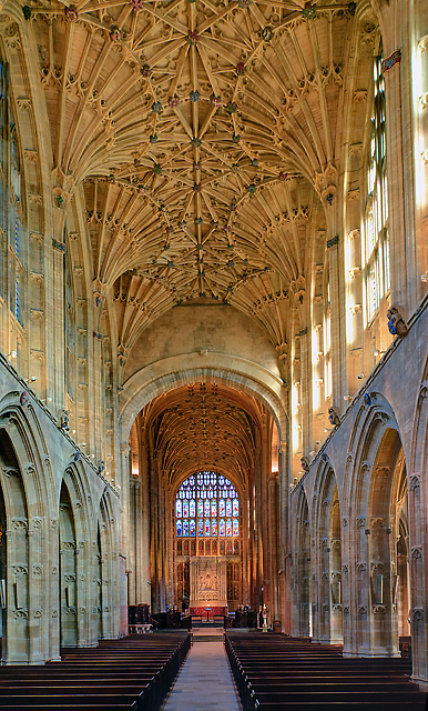 A brief tour of Sherborne Abbey - the nave (2)