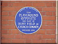 Photo of Blue plaque number 9635
