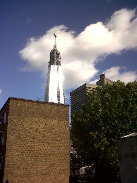 The glinting Shard