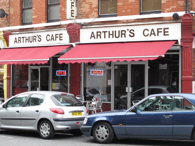 Arthur's Cafe, Station Terrace, NW10