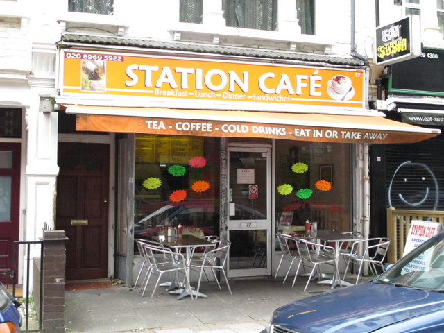 Station Café, Station Terrace, NW10