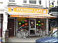 TQ2383 : Station Caf&eacute;, Station Terrace, NW10 by Mike Quinn