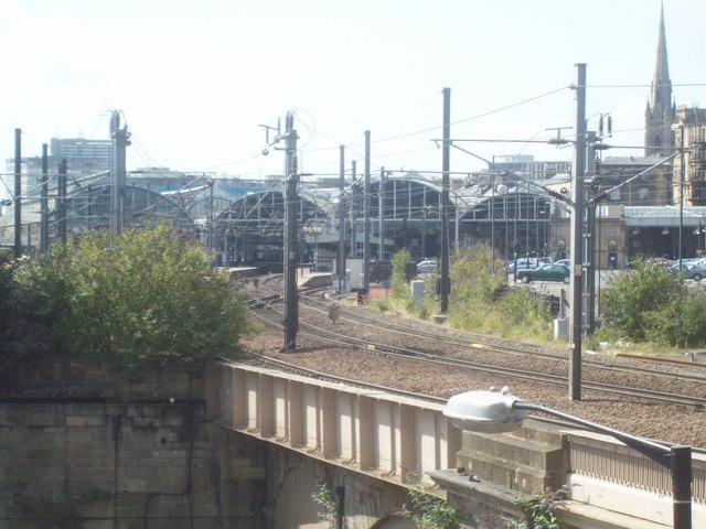 Newcastle Central Rail Station