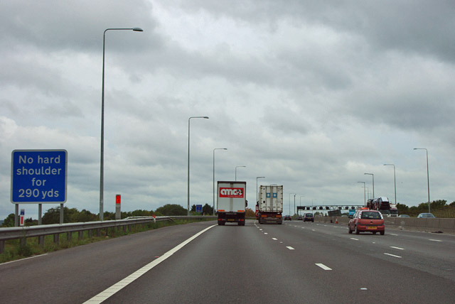 M25 anticlockwise