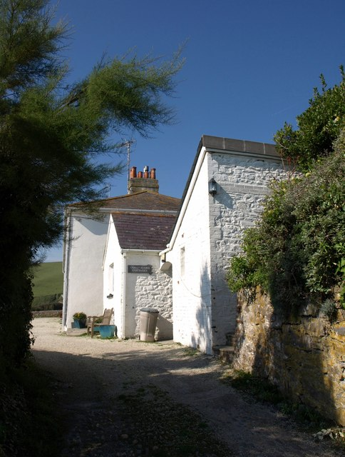 Coastguard cottages, Portwrinkle