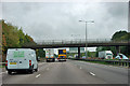 TL4701 : Bridge over the M11 by Robin Webster