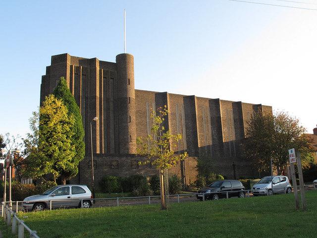 St Saviour's church, Middle Park, Eltham