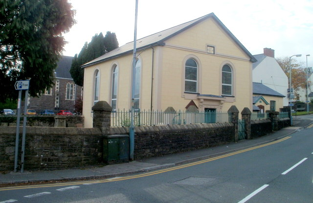 Grade II listed Elim United Reformed Church, Cwmbran