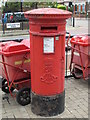 TQ2383 : Edward VII postbox, Chamberlayne Road / Okehampton Road, NW10 by Mike Quinn