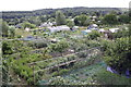 SE1138 : Allotments on west side of Bradford Road by Roger Templeman