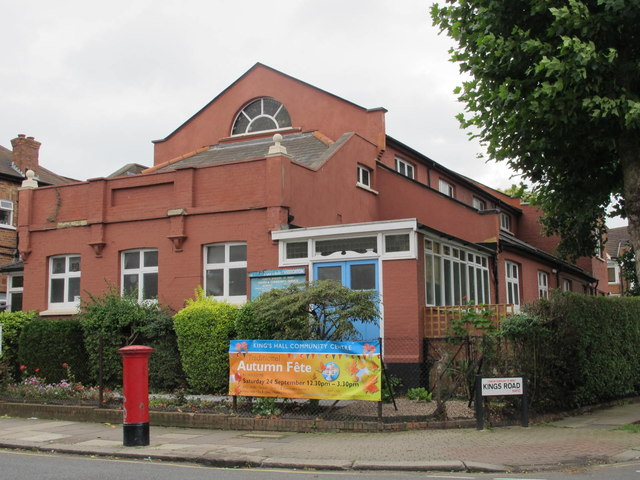 King's Hall Community Centre, Harlesden Road / King's Road, NW10