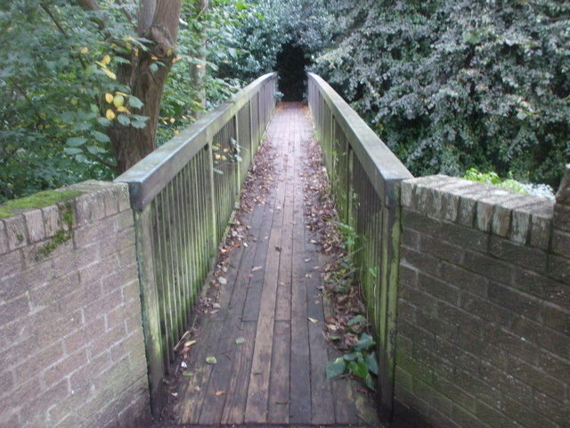 Footbridge across the Water of Leith